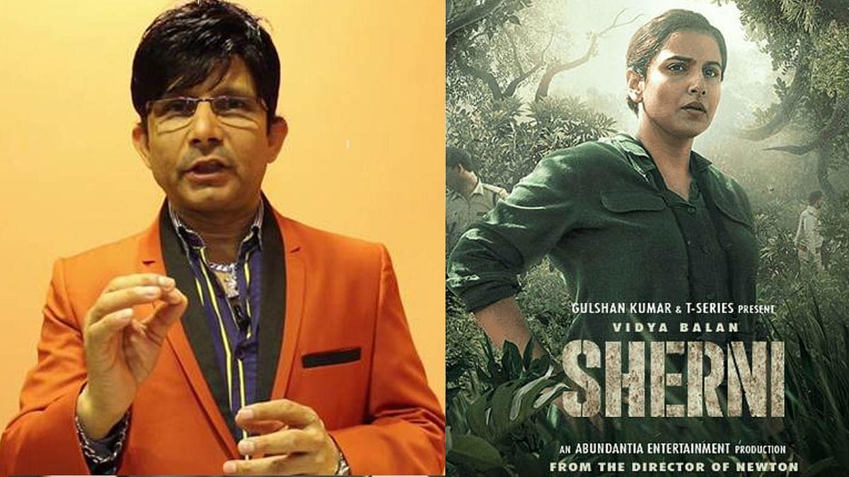 KRK ने अब विद्या बालन से लिया पंगा, Sherni को बताया 'छोटी फिल्म'