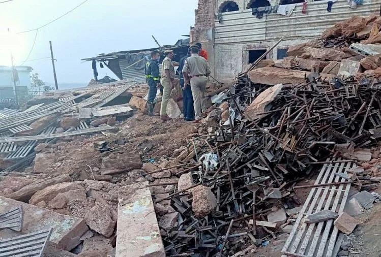 वाराणसी : काशी विश्वनाथ कॉरिडोर परिसर में हुई दुर्घटना में 2 मजदूर की मौत