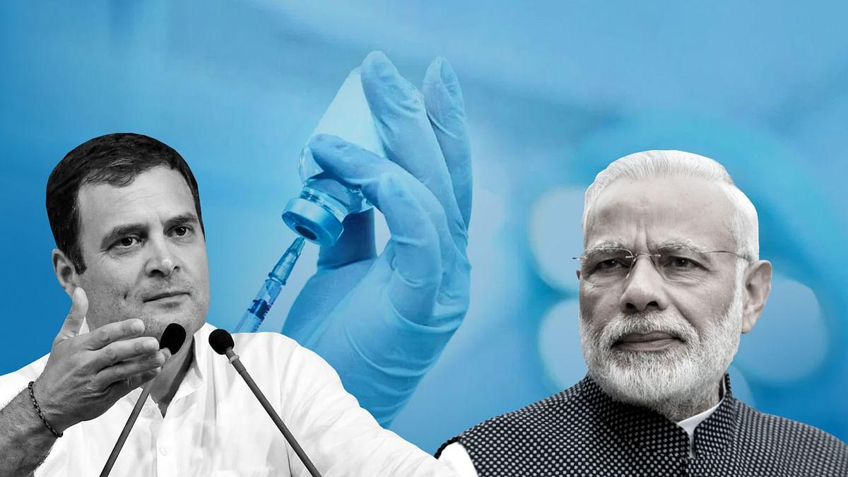 अगर समझते देश के मन की बात, ऐसे ना होते टीकाकरण के हालात: राहुल गांधी