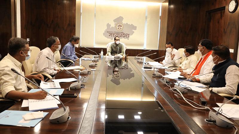 CM चौहान की अध्यक्षता में धान मिलिंग पर मंत्रि-मंडलीय उप-समिति की हुई बैठक