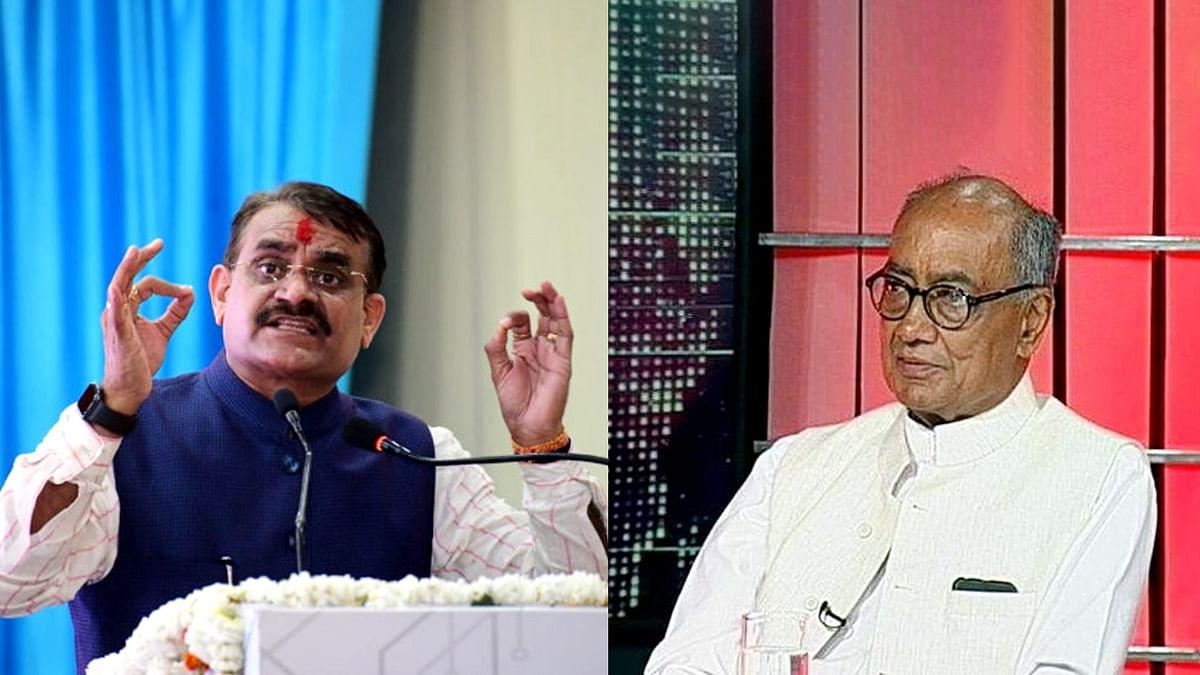 दिग्विजय के ट्वीट पर वीडी ने कहा - शिवराज के नेतृत्व में सरकार पर गर्व है