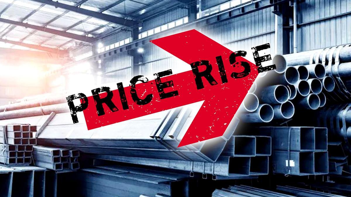 देश में बढ़ती महंगाई के बीच बढ़ी स्टील की कीमतें
