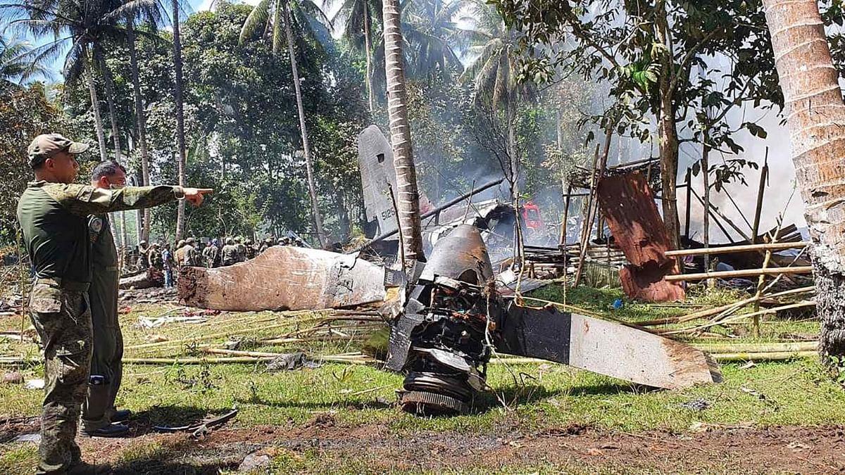 Philippines के दुर्घटनाग्रस्त सैन्य विमान का 'Black Box' बरामद