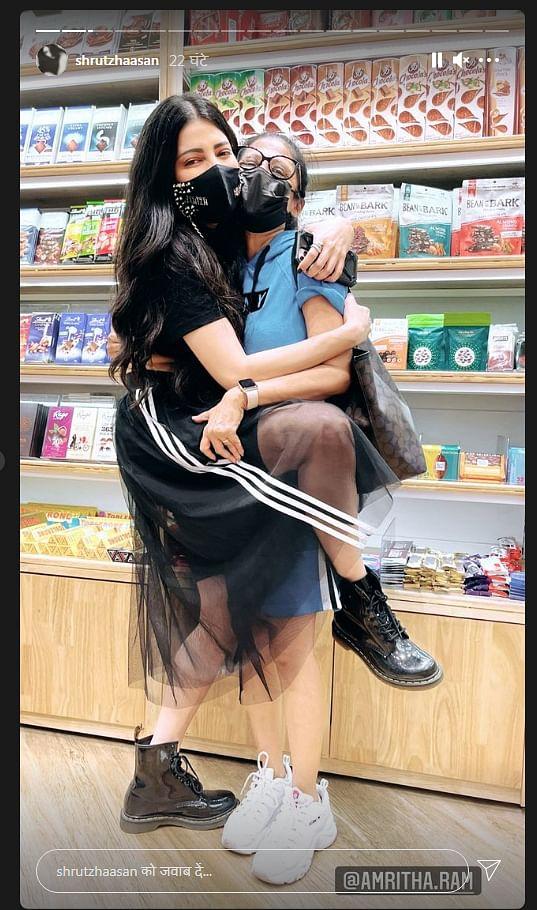 Shruti Haasan ने खुलेआम किया बॉयफ्रेंड को किस