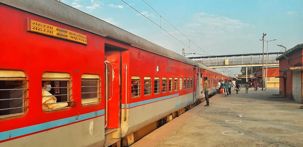 एक अगस्त से चलेगी सहरसा-आनंद विहार साप्ताहिक ट्रेन
