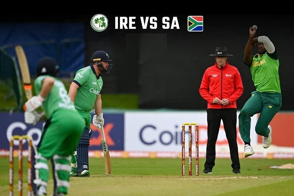 दक्षिण अफ्रीका ने आयरलैंड को किया 3-0 से क्लीन स्विप