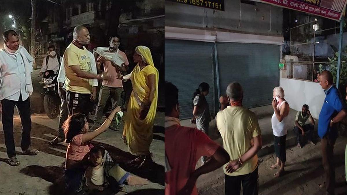 Hoshangabad: बहू पर अत्याचार, लड़के के मोह में सास ने बहू को सड़क पर पीटा