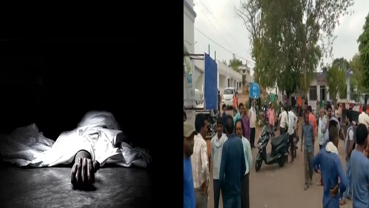 6 लोगों की एक साथ हुई मौत के बाद इलाके में पसरा मातम