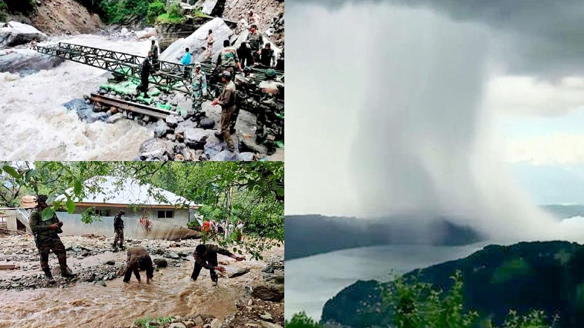 जम्मू कश्मीर के किश्तवाड़ में बादल फटने से मची तबाही- लापता हुए कई लोग