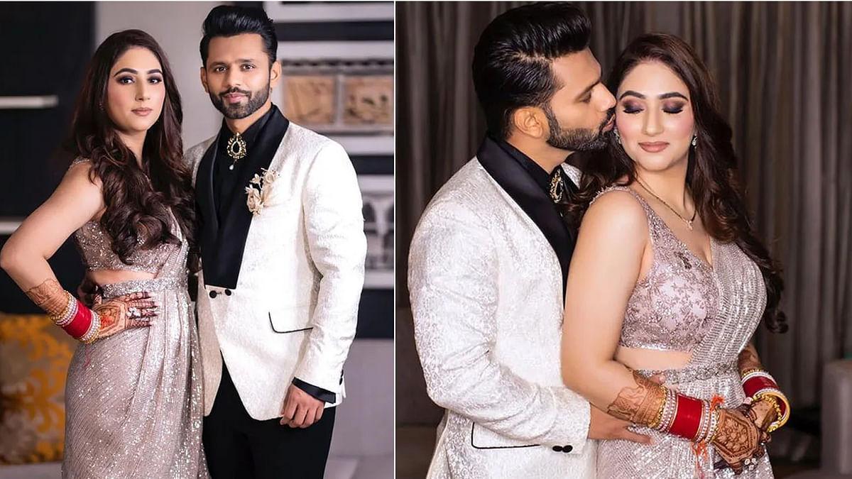 शादी के बाद राहुल और दिशा ने दी ग्रैंड पार्टी, अली और जैस्मीन हुए शामिल