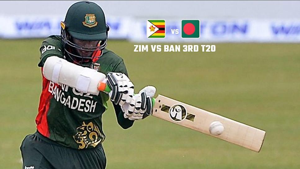 Zimbabwe को तीसरे हाई स्कोरिंग मैच मे हरा बंगलादेश ने 2-1 से जीती T20 सीरीज