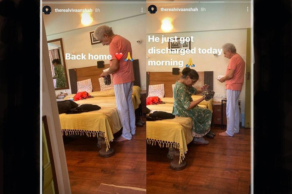 Naseeruddin Shah को अस्पताल से मिली छुट्टी