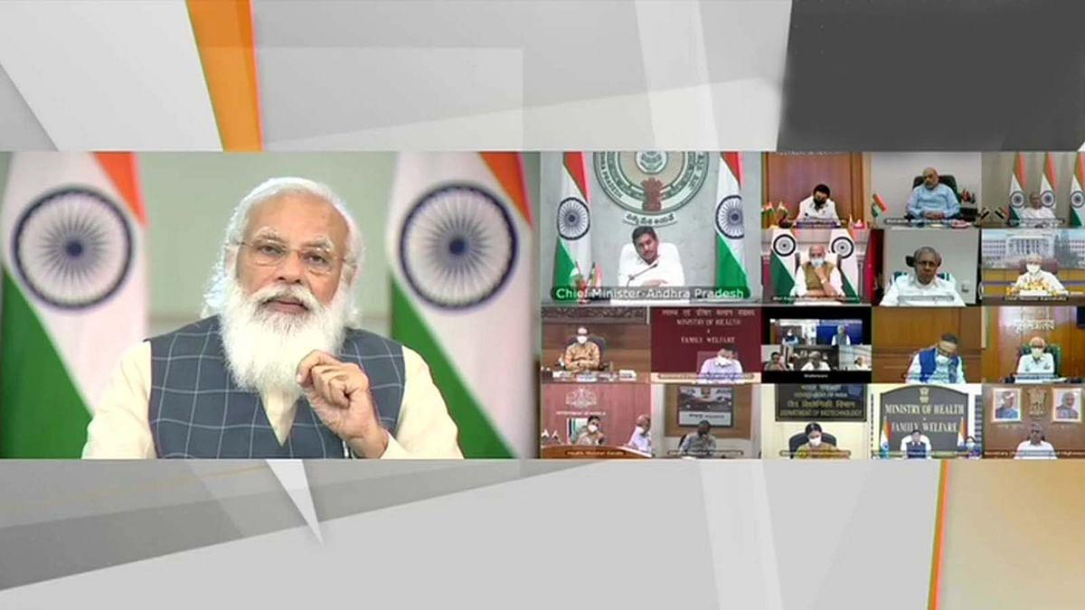कोरोना स्थिति पर आज फिर CM संग PM की चर्चा- तीसरी लहर को लेकर कही ये बात