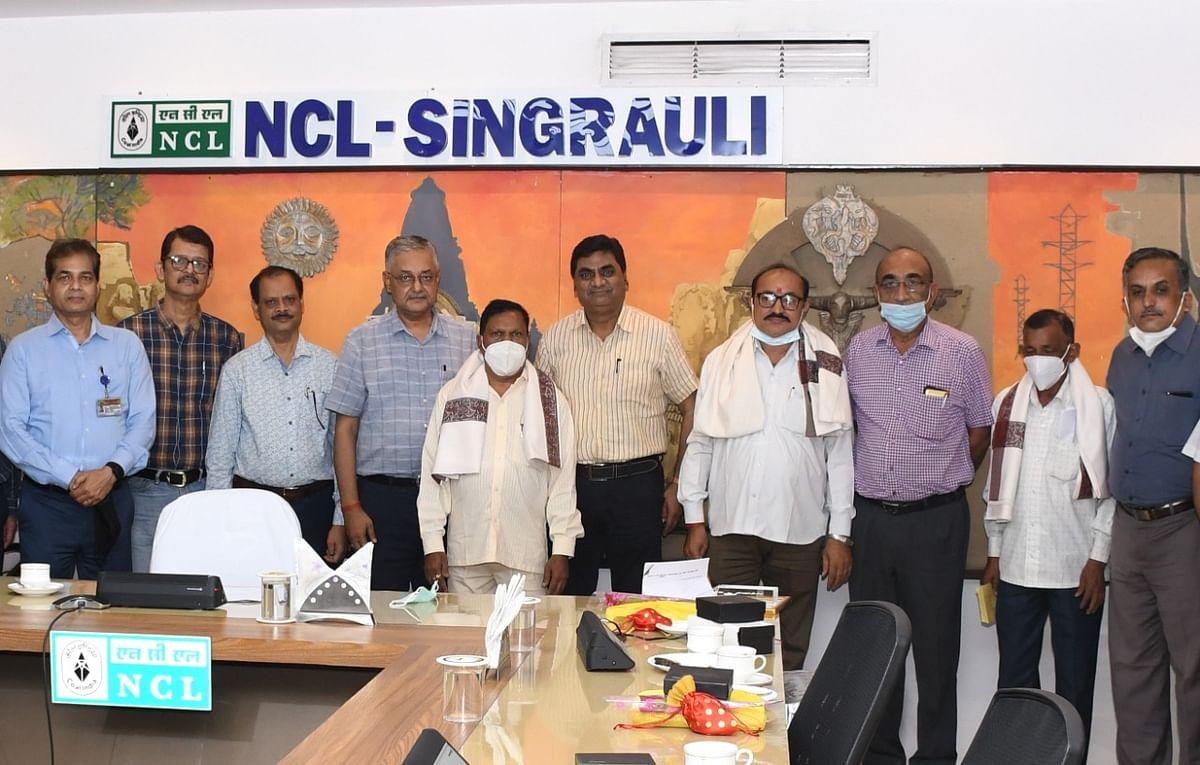 जुलाई माह में एनसीएल से निदेशक (कार्मिक) सहित सेवानिवृत हुए 82 कर्मी