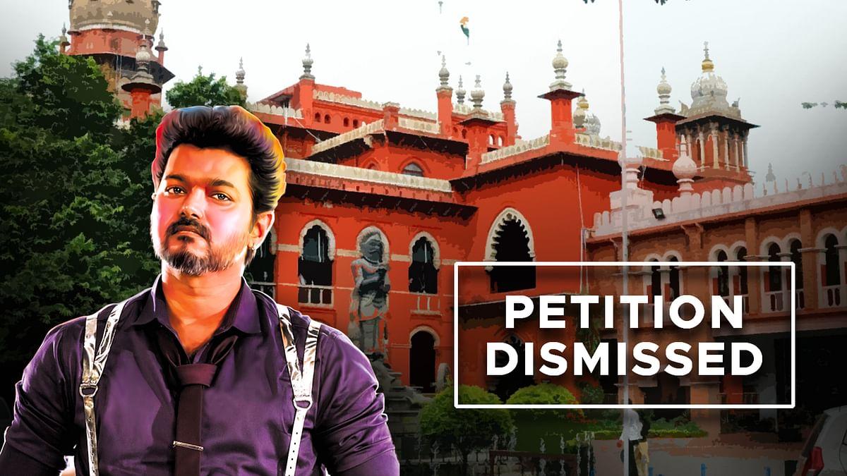 मद्रास High Court ने खारिज की अभिनेता Vijay की याचिका, लगाया 1 लाख का जुर्माना