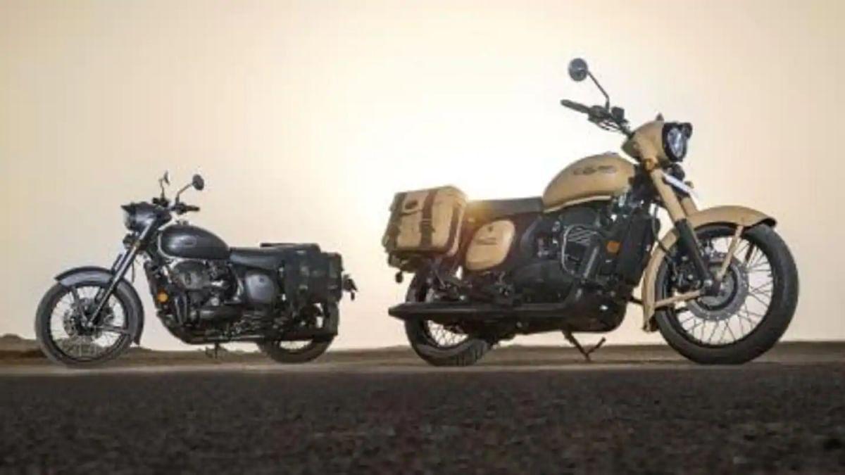 Jawa ने खाकी-मिडनाइट ग्रे रंग में बाइक लॉन्च कर दिया भारतीय सेना को सम्मान