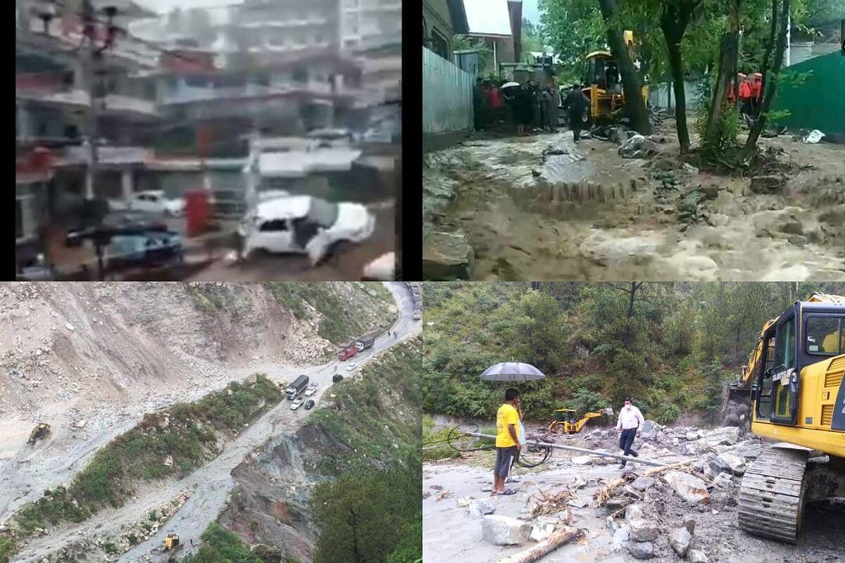 हिमाचल प्रदेश में Monsoon का रौद्र रूप- भागसू में बादल फटने से मची तबाही
