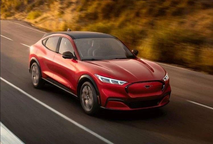 Ford की इलेक्ट्रिक क्रॉसओवर Mustang Mach-E ने बनाया गिनीज वर्ल्ड रिकॉर्ड
