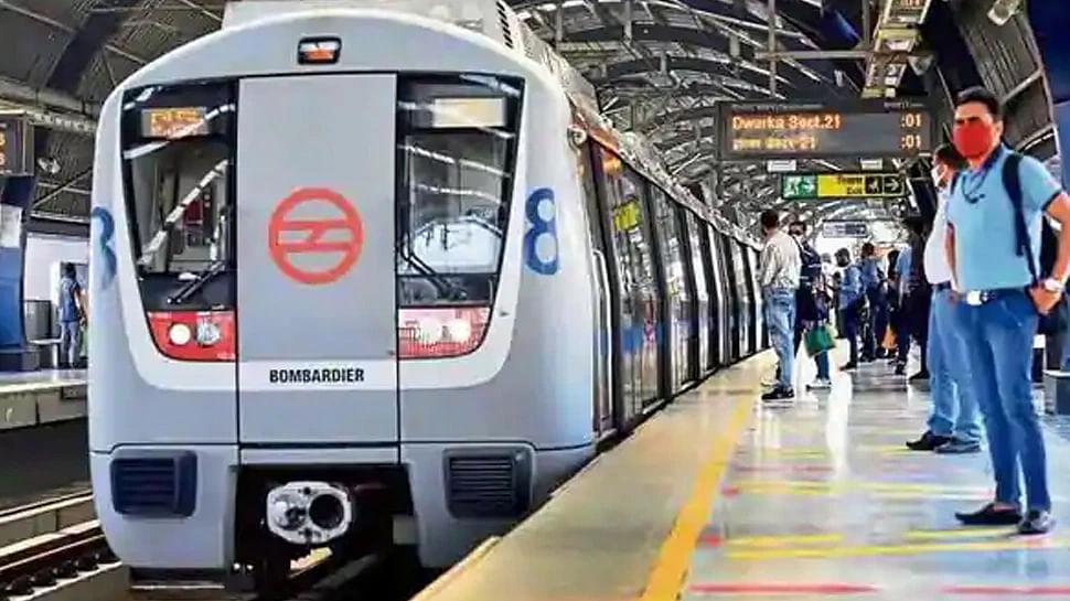 दिल्ली में सोमवार से 100% क्षमता के साथ चलेंगी मेट्रो और बसें
