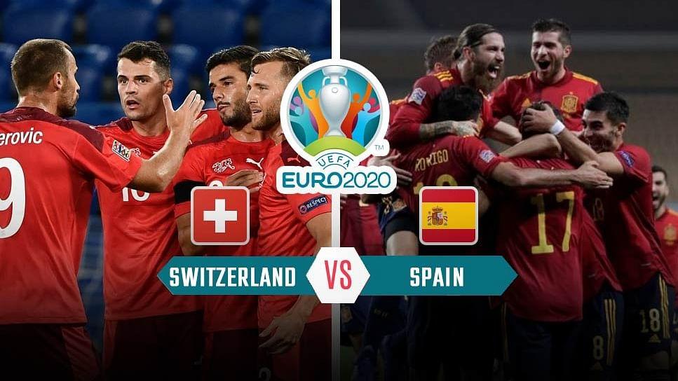 पेनल्टी शूटआउट में Switzerland को हरा यूरो कप के सेमीफाइनल में पहुंचा Spain