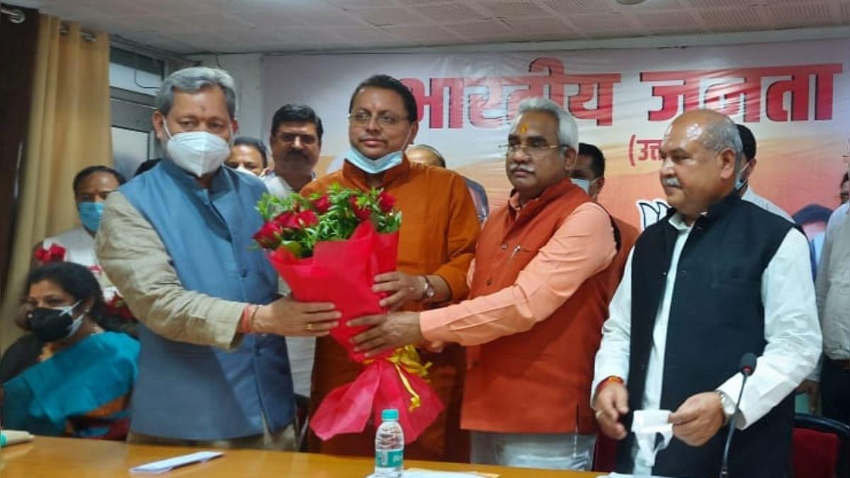 उत्तराखंड के नए CM की कुर्सी अब Pushkar Singh Dhami संभालेंगे