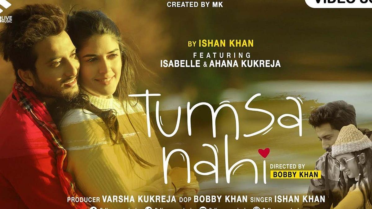 ईशान खान और इजाबेल लिटे का नया गाना 'तुमसा नहीं' का वीडियो रिलीज़