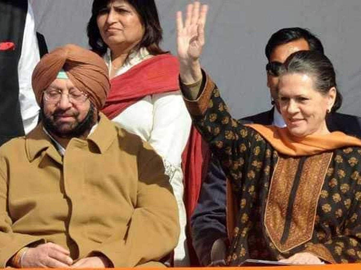 Punjab Congress Crisis: CM अमरिंदर से पहले प्रियंका की सोनिया गांधी से मुलाकात
