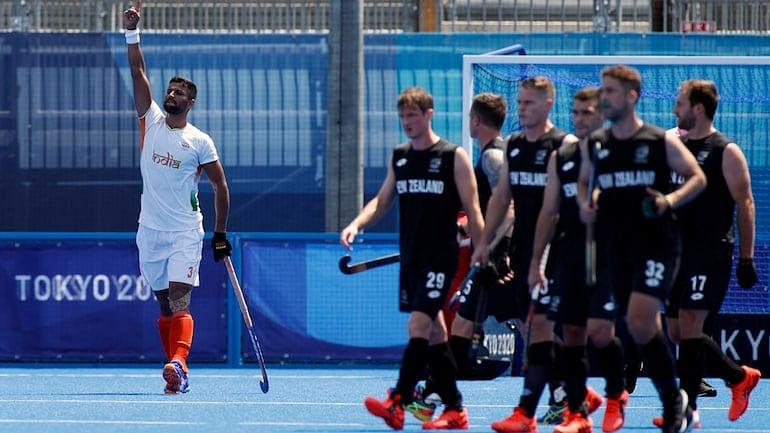भारतीय पुरुष हॉकी टीम की विजयी शुरुआत, न्यूजीलैंड को 3-2 से हराया