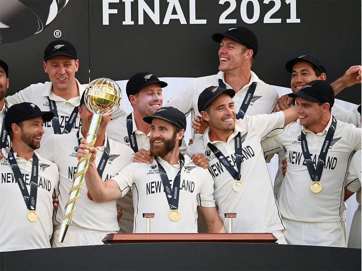 NewZealand क्रिकेट देश भर में 7 दिवसीय WTC ' गदा परेड ' की बना रहा है योजना