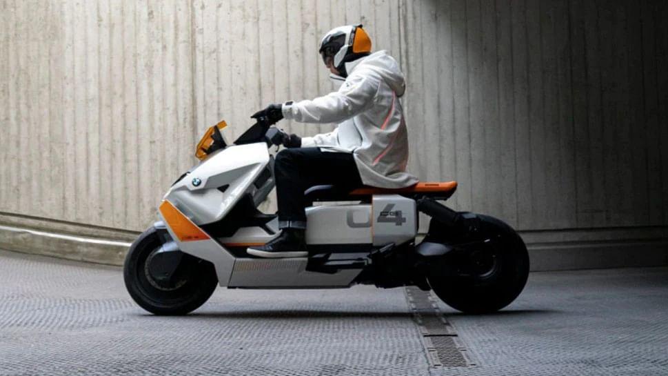 BMW Motorrad ने पेश किया इलेक्ट्रिक स्कूटर 'BMW CE-04'