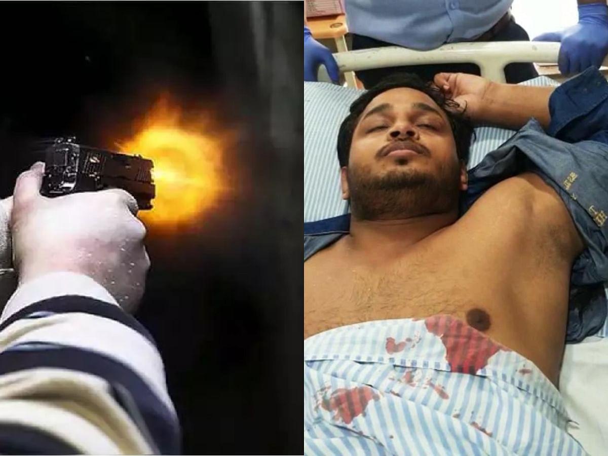 Indore : शराब कारोबारियों की बैठक में मदिरा ठेकेदार को गोली मारी