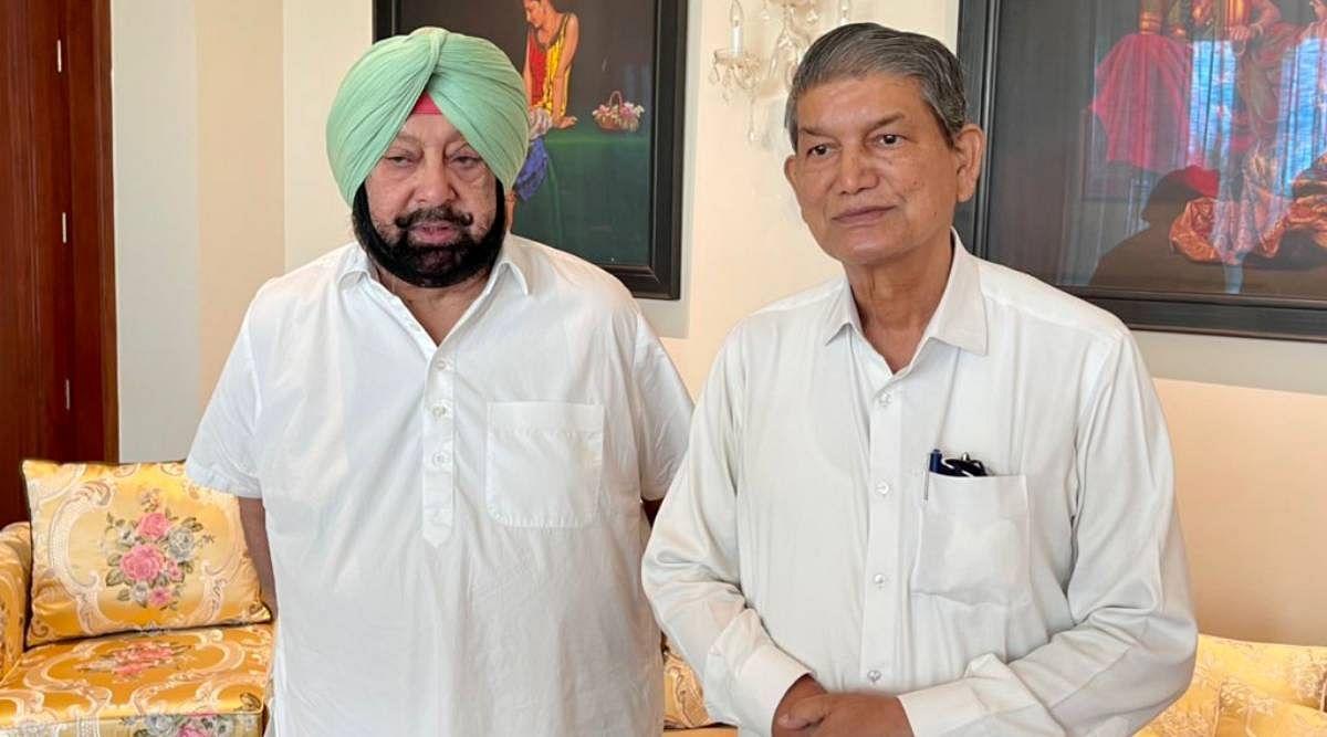 Punjab Politics : कैप्टन तथा सिद्धू के बीच सुलह करा हरीश रावत दिल्ली रवाना