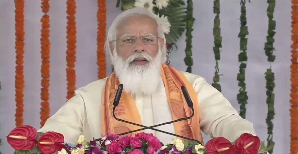 Narendra Modi in Varanasi : हर हर महादेव के उद्घोष से हुआ मोदी का स्वागत