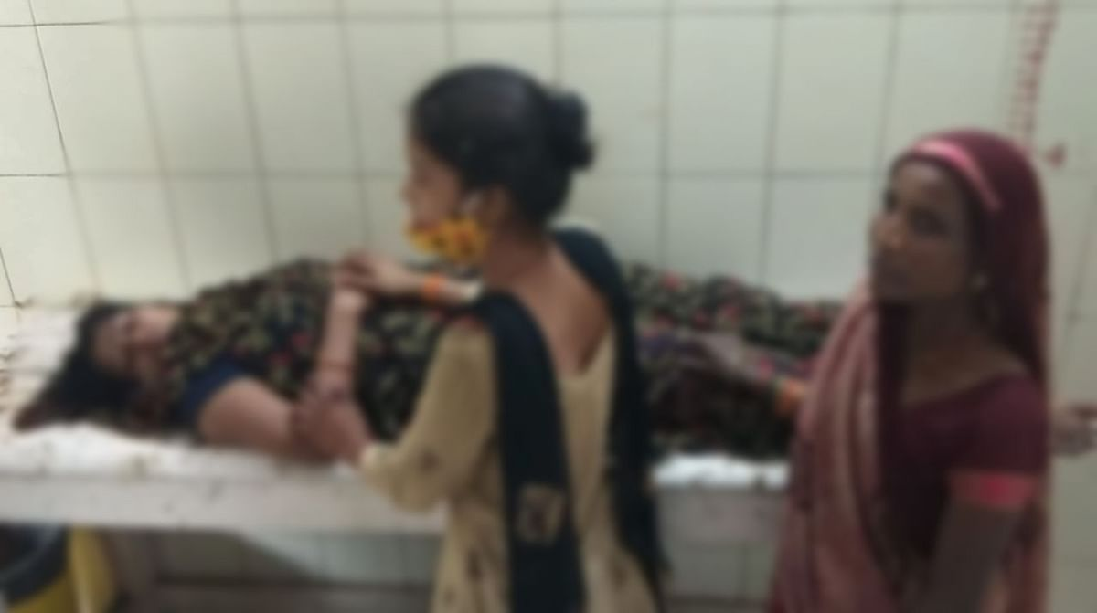 Dabra : प्रताड़ना से तंग महिला ने डाई पीकर किया आत्महत्या का प्रयास