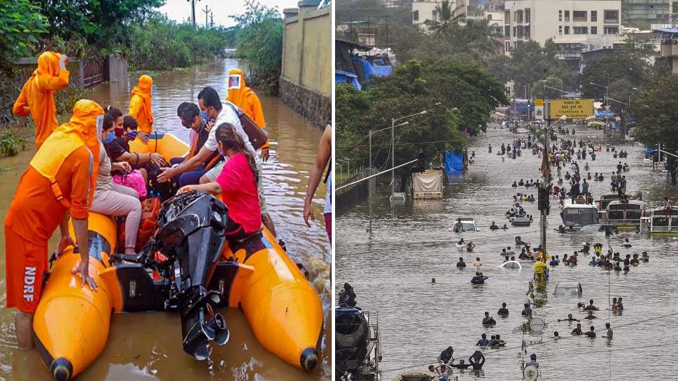 महाराष्ट्र में बारिश से छाया तबाही का मंजर, 48 घंटे में हुईं इतनी मौतें