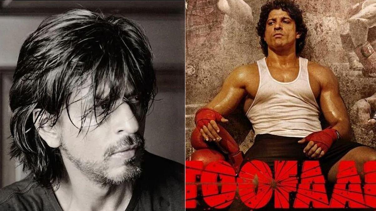 शाहरुख खान को पसंद आई फरहान अख्तर की Toofaan, ट्वीट कर की तारीफ