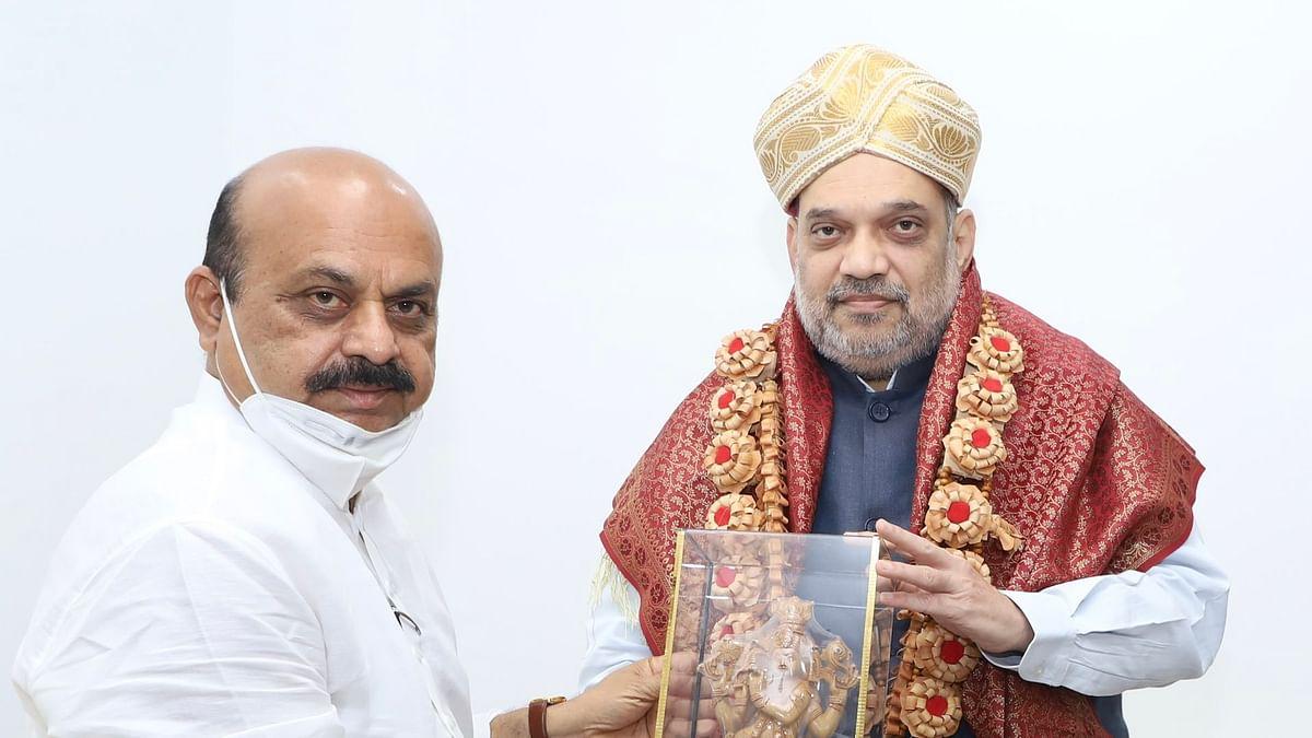 दिल्ली में CM बसवराज बोम्मई ने अमित शाह से मुलाकात कर कही यह बात...