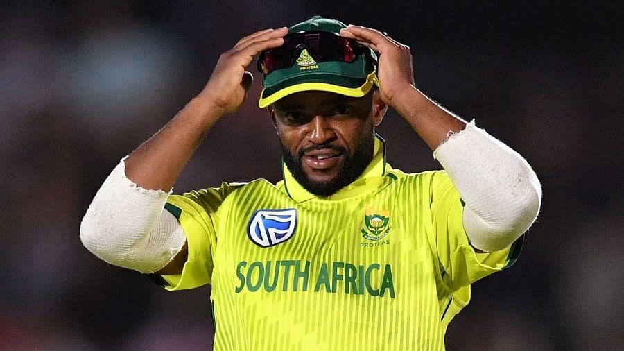 दक्षिण अफ्रीका के कप्तान बावुमा को आईसीसी की आचार संहिता के उल्लंघन पर फटकार