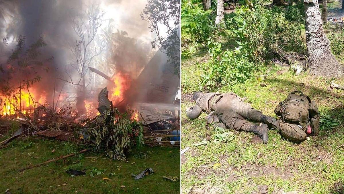 Philippines Plane Crash: वायुसेना का विमान क्रैश, 17 जवानों की मौत