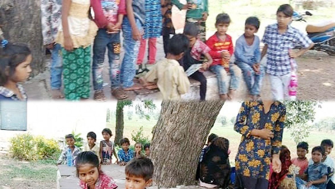 शासन के आदेश की खुलेआम धज्जियां उड़ा, चलाया जा रहा प्राथमिक व माध्यमिक विद्यालय