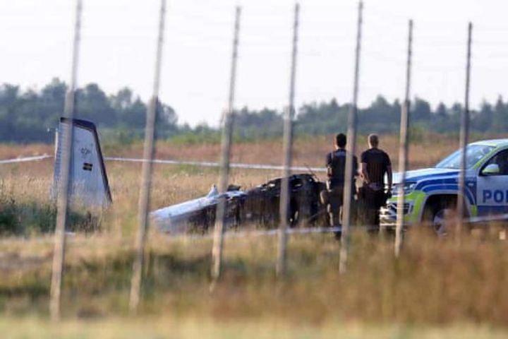 स्वीडन: ओरेब्रो के बाहरी इलाके में प्लेन क्रेश से हुआ बड़ा हादसा, 9 की मौत