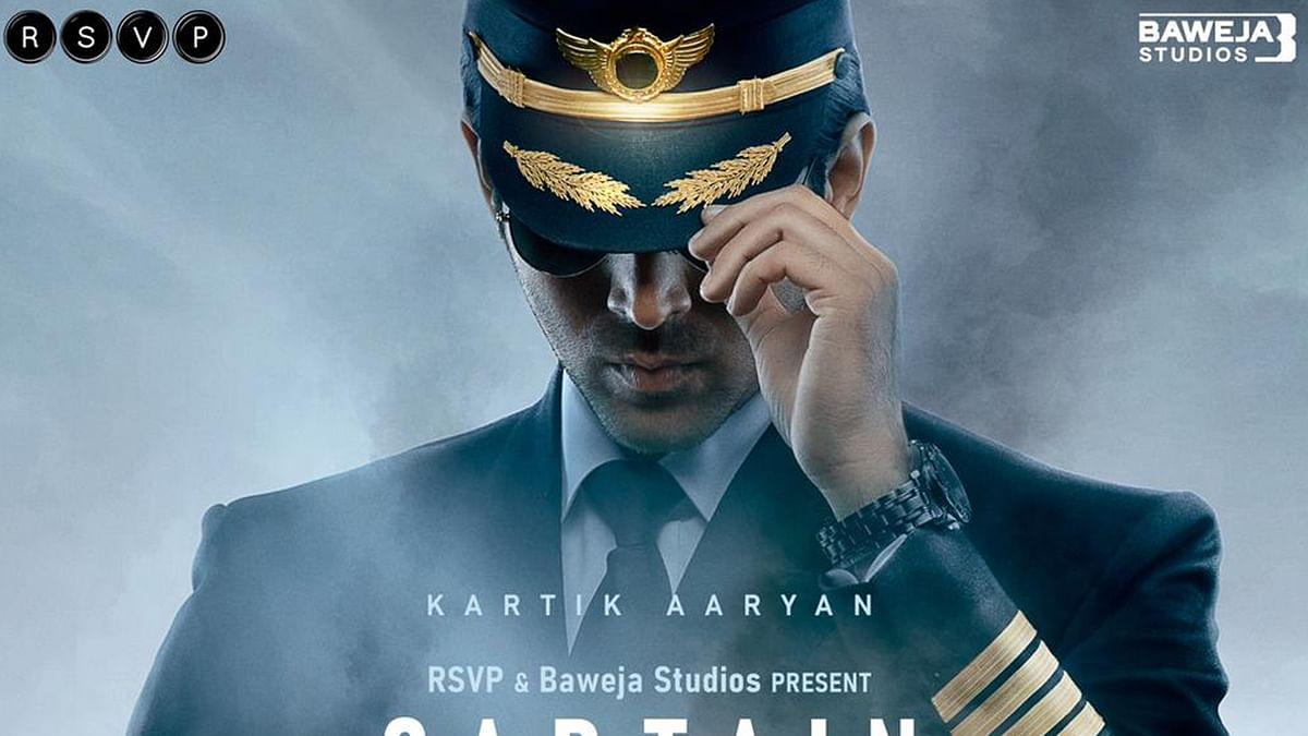 कार्तिक आर्यन की नई फिल्म का ऐलान, शेयर किया Captain India का फर्स्ट लुक