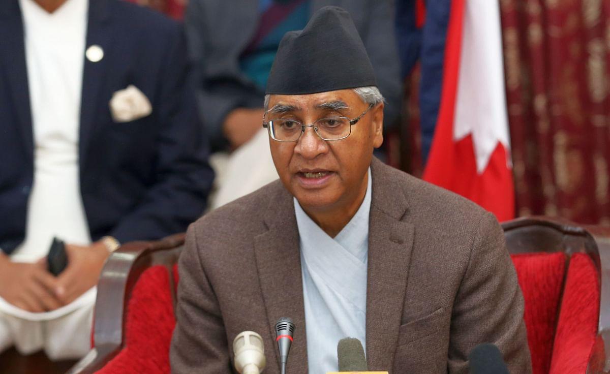 शेरबहादुर देउबा नेपाल के प्रधानमंत्री नियुक्त
