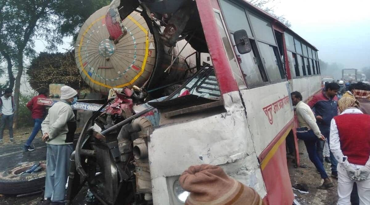 उत्तर प्रदेश के संभल में भीषण सड़क हादसा- CM योगी ने जताया दुख