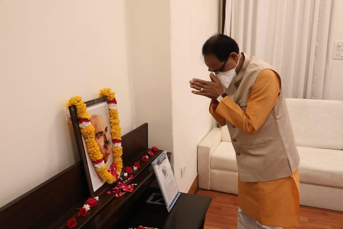 CM शिवराज ने भारतीय जनसंघ के संस्थापक डॉ. मुखर्जी की जयंती पर किया नमन