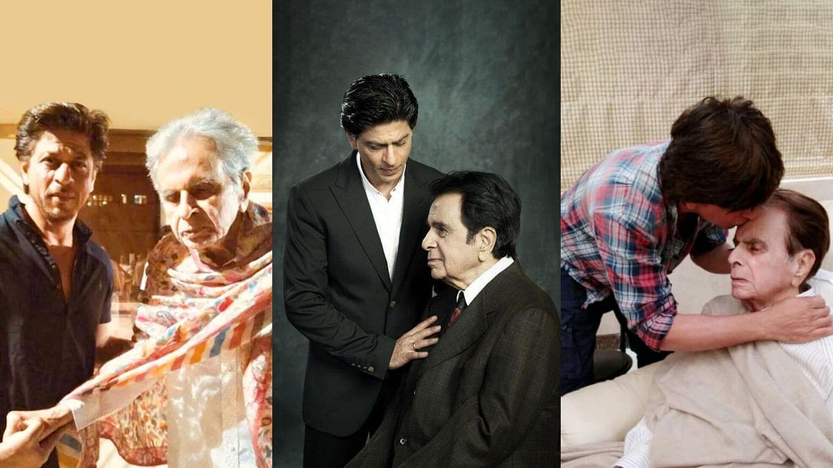 शाहरूख खान को बेटे जैसा मानते थे दिलीप कुमार
