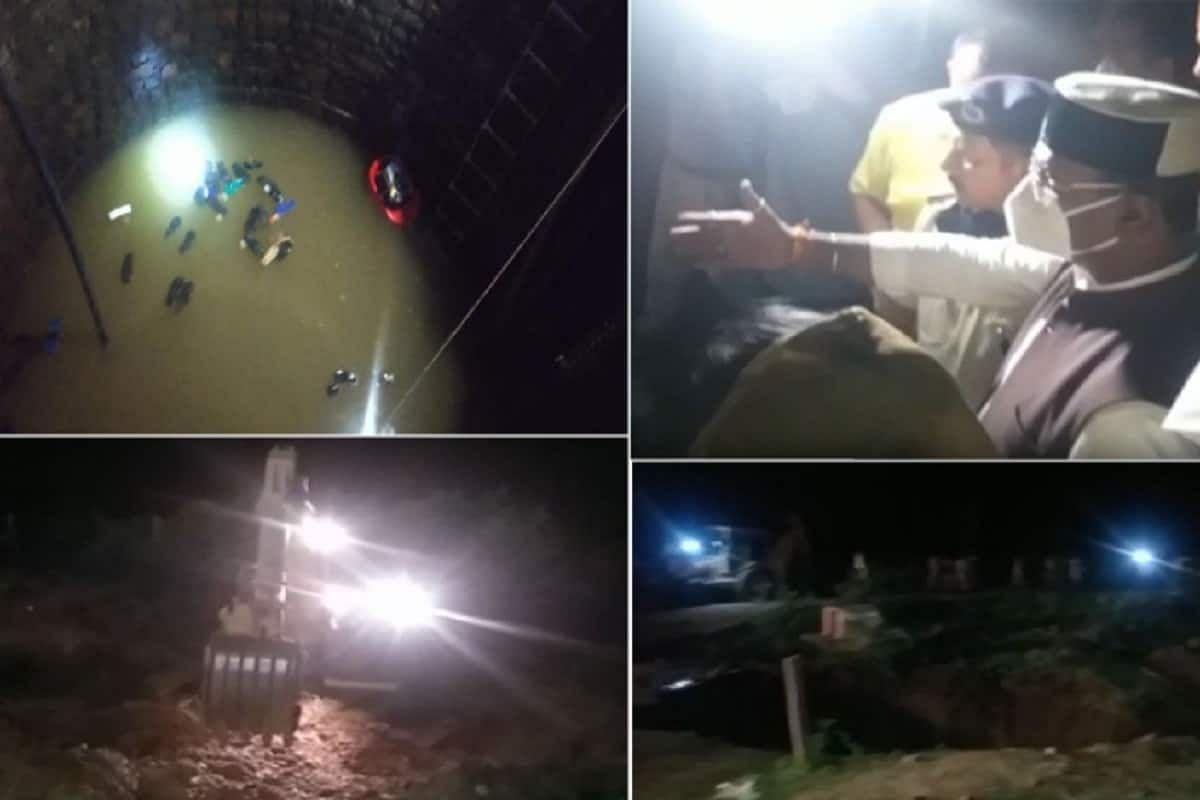 गंजबासौदा हादसे में देर रात तक बचाव कार्य जारी, कई लोग मलबे में दबे