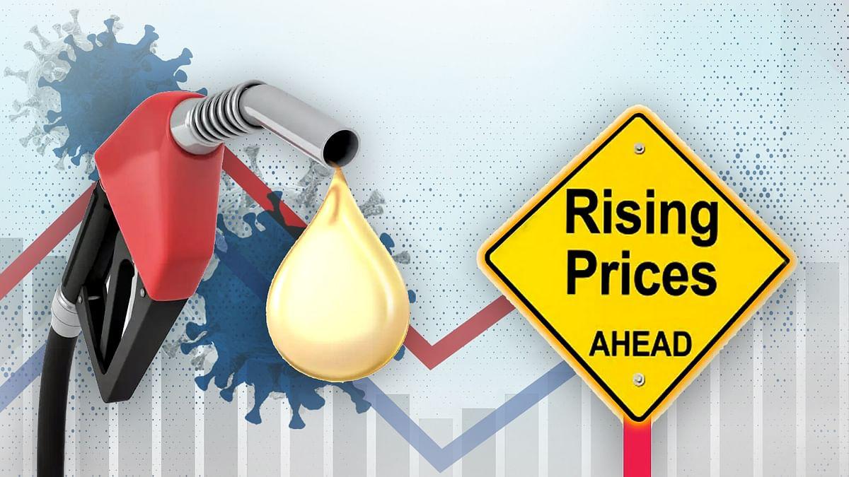आज कोरोना के आंकड़ों के साथ ही बढ़ी Petrol-Diesel की कीमतें