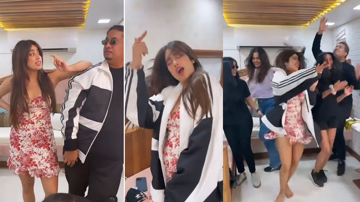 अक्सा गैंग के साथ जमकर नाचीं Janhvi Kapoor, वीडियो हुआ वायरल