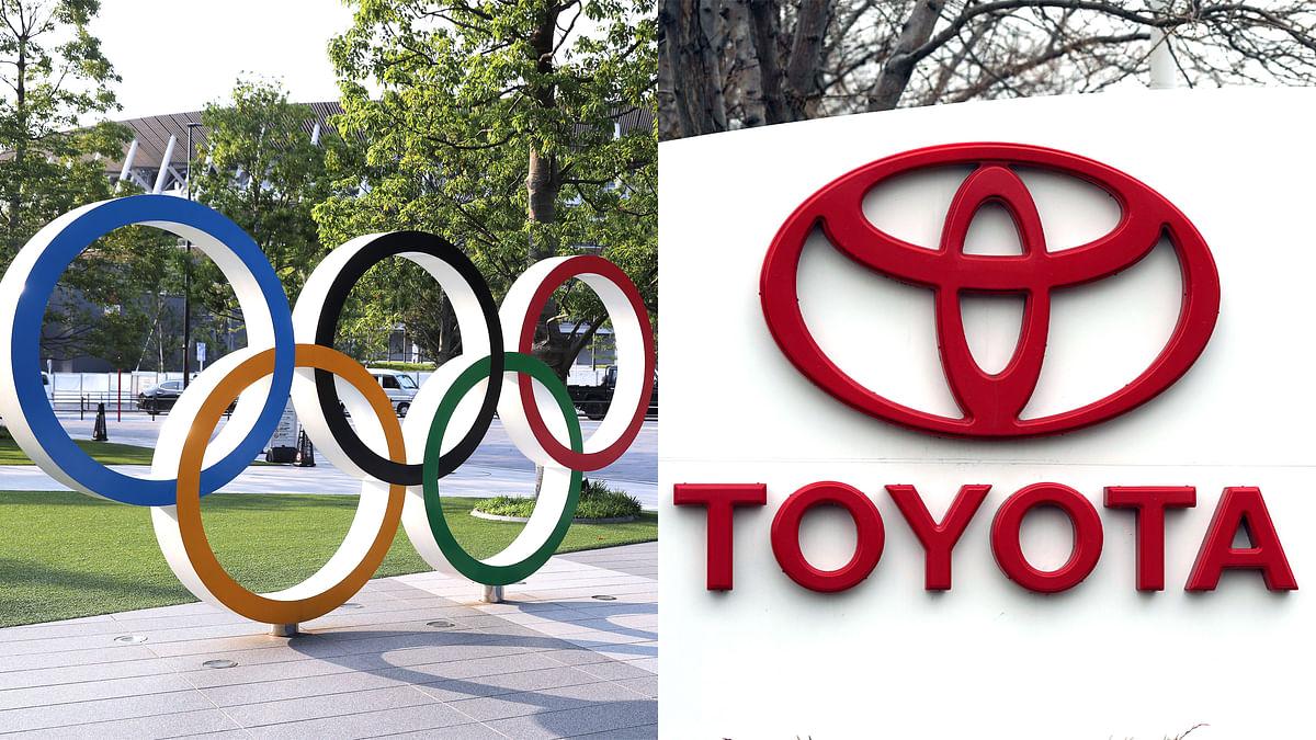 टोयोटा ओलम्पिक से सम्बंधित टीवी विज्ञापन नहीं चलाएगा